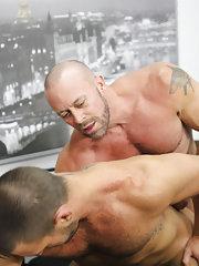 Males kissing fucking videos and hot men dumping cum in virgin boys ass at My Gay Boss
