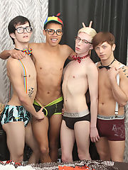 Twink cum eating pics gallery...