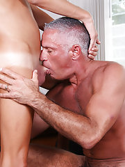 Cute ass of male and anal...
