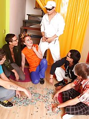 Gay group sex parties and guys nude groups at Crazy Party Boys