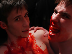 Close up cum shooting into twink boys mouth and emo twink porn clips pics - Gay Twinks Vampires Saga!