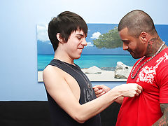 Kyler may solely be a buck-twenty soaking wet, but that guy takes a brutal pounding from Alexsander and loves each moment hardcore gay videos at Bang