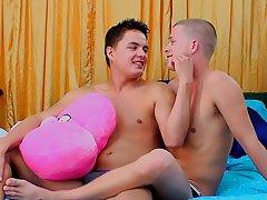 Straight men seduced by gay men...
