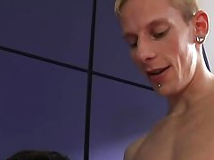 Dies fucking emo boys and straight guy licks guys cum at EuroCreme