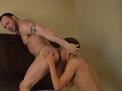 Older guy sucks off young twink and men eating boy ass at I'm Your Boy Toy
