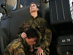 Military gay men cum and military physical gay