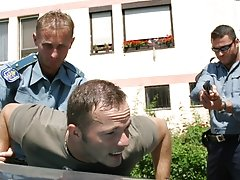 A cop, Sergio Soldi, comes and takes Shawn to the clinic gay group sex 6 guys