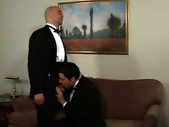 Hot bodied and hung  fucking pack mules, these two gay superstars finally find out who is gonna be on top and who is gonna spread his sphincter to tak