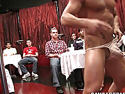 Hot young guys in college...