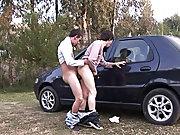 Erick and Julian make it first time male nudist...