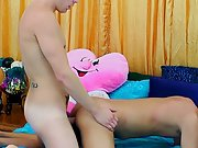 Gay twinks cum and gay teens first time - at Real...