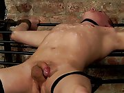 Grey haired dirty old man sucks young cock and...