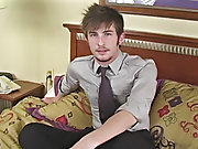UK lad Justin is back in his 2nd video amateur nude...