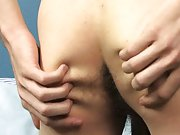 Photos of naked twinks with shaved cock and balls...