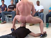 Teen gay group sex and men masturbating in groups...