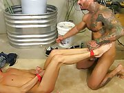 Hard fast interracial gay...