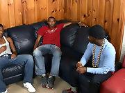 Ebony gay black studs and...