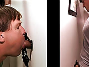 Men giving themselves auto blowjobs and bi...