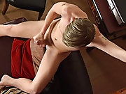 Young male masturbation...