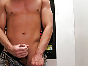 Men moaning while getting a blowjob and calf blowjob...