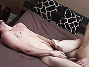 Older guys blowing twinks and gay porn men fuck...
